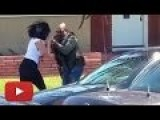 Angry US Marshal Snatches Camera From Woman For Recording & Smashes It