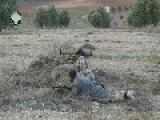 A Syrian Sunni Arab Tank Hunter Knocks Out Assad Regime 2S3 Akatsiya, With 9K115-2 ATGM: Idlib Governorate Feb 26th, '14