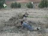 A Syrian Sunni Arab Tank Hunter Knocks Out Assad Regime 2S3 Akatsiya, With 9K115-2 ATGM: Idlib Governorate Feb 26th, '14