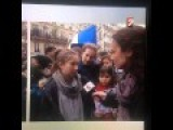 A Teen Being Interviewed In Live During The Paris Demonstration... Oops