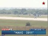 Aero L-39 Albatros Hard Landing At MAKS 2011