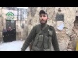 Ahrar Al Sham Fighter Telling The Camera Man About His Return Finally To His Home After 3 Years!