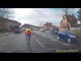 Annoying Cyclist Ignoring Other Users Of The Road - Gloucester Road, Bristol