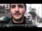 A Syrian Soldier Explain Very Well The Complexity Of Not Doing Collateral Damages Because Of The Terrorists Human Shield Strategy !