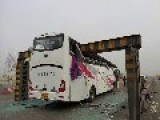 At Least 2 Dead, Dozens Hurt After Bus Hits Road Barrier In China