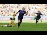 Australia Vs Netherlands 2-3 All Goals Highlights World Cup 2014