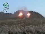 A Syrian Sunni Arab Tank Hunter Gets A Hit On Assad Regime ZSU-23-4, With 9M113 ATGM: Qalamoun Feb 18th, '14