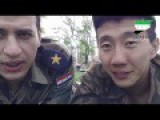 Asian Fighter Cheering For Assad