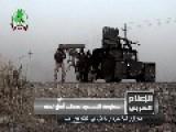 Asa'ib Ahl Al-Haq Direct Hit On An IS Vehicle In Qaryat Bir Ahmad Area Of Salah Ad Din