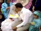 A Happy Muslim Couple Newly Married