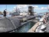 Australian Submarine Arrives At Pearl Harbor Naval Base