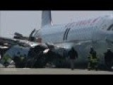 Air Canada AC624 Crash: Up Close Footage Of The Wreckage