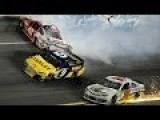 Austin Dillion Wrecks Kyle Larson Daytona 500