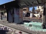 Arab Protesters Destroyed Their Own Train Station