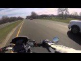Asshole Motorcyclist Gets Hated On And Deleted This Video... Surprise You Twat Its Mirror Time!