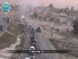 Al-Nusra Front Al-qaeda Showing Spoils Taken From Syrian Revolutionary Front Led By Jamal Marouf &amp Hazm Movement In Idlib