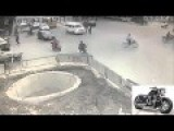 ACCIDENT Camera Footage Super Scooter Driver Funny Accident Expert