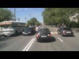 A Driver Hits A Girl On The Crosswalk And Suffers Punishment