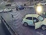 Attempted Car Theft - Old Lady Fights Back And WINS