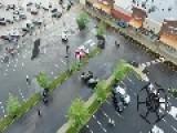 Aerial Footage Shows Aftermath Of Tornado In Beavercreek, Ohio