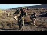 After An ISIS IED Detonation: Iraqi Soldiers Carry Their Wounded Comrades Away