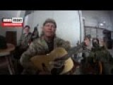 An American Anti-Kiev Volunteer Texas Plays A Country Song About War In Donbass