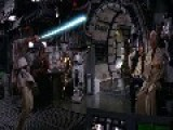 A Scene From Star Wars Episode IV 1977 Onboard The Millenium Falcon