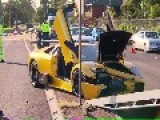 Another Lamborghini Crash In Australia