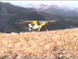 Amazing STOL Execution On Idaho Mountain Top