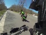 ATV One Handed Wheelie ++ Fail
