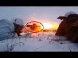 AZOV Under Russian Terrorist 120mm Mortar Fire