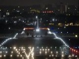 Airliners Illuminate The Night Sky During Takeoffs And Landings