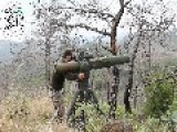 A Syrian Sunni Arab Citizen Tank Hunter Gets A Hit On Assad Regime T-55, With A BGM-71 ATGM: Latakia Governorate Oct