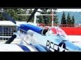 Awesome V12 Monster P51 Mustang Engine Awake And Alive Startup