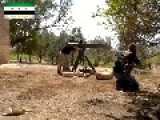 A Syrian Sunni Arab Tank Hunter Gets A Hit On Assad Regime T-72, With A TOW ATGM: Hama Governorate Sept 16th,