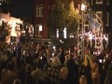 Annual Pre-Halloween High Heel Race Draws Huge Crowd To 17th St