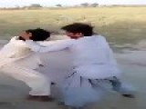 Arab Village Teens Fighting