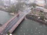 Amazing Hail Storm In Maroochydore Queens Land Australia
