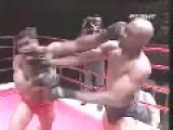 Anderson Silva Fights In A Brazilian MMA Competition