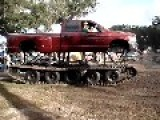 American Transforms His Pick-Up Truck Into A 10 X 10 Unstoppable Vehicle