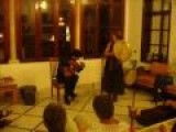Arab Man And Jewish Woman Making Lovely Music Together