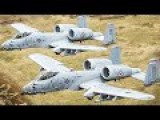 A-10s! A-10s Everywhere ! Billions Dollars Of Plane In One Video - F-22 F-18 B1 F-1