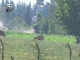 Anti-Aircraft Hit By ATGM