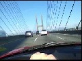 A Drive Over The Alex Fraser Bridge