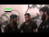 Assad Shabbiha Captured By FSA In Qunietra