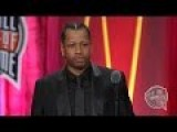 Allen Iverson's Basketball Hall Of Fame Enshrinement Speech