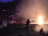 Amazingly Wicked Night Time Shoot Out W Explosions
