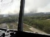 A Low Res View From Donetsk Airport Tower As Ukrainian Warrior Heroes Continue To Hold Out Against Putin's Terror Gangs