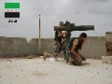 A Syrian Sunni Arab Citizen Tank Hunter Engages A Moving Assad Regime T-72, With A TOW ATGM: Ma'ar Hattat Oct 15th,