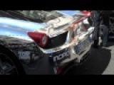 Awesome Chrome Ferrari 458 Italia - Start Up And Revs